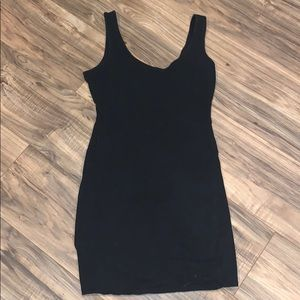 Xhilaration tank black dress